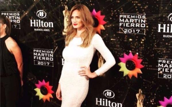 Por su vestido, Paula Chaves fue la más criticada de los Martín Fierro