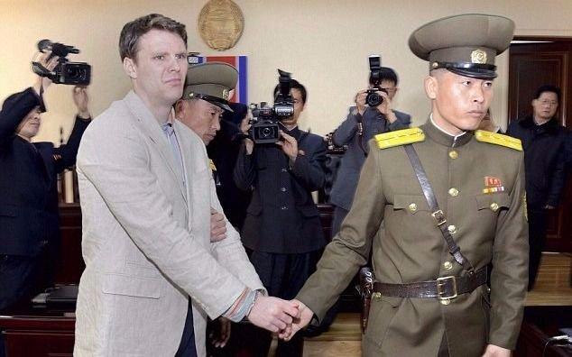 Murió el estadounidense preso un año en Corea del Norte