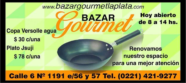 Bazar Gourmet: todo para tu hogar