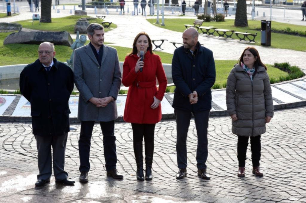 "Vidal anunció obras y recibió otro ""escrache"""