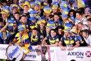 Boca festejó en la Bombonera tras el triunfo a Unión