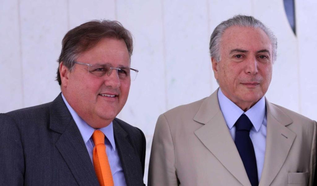Ex ministro de Michel Temer detenido en caso de corrupción