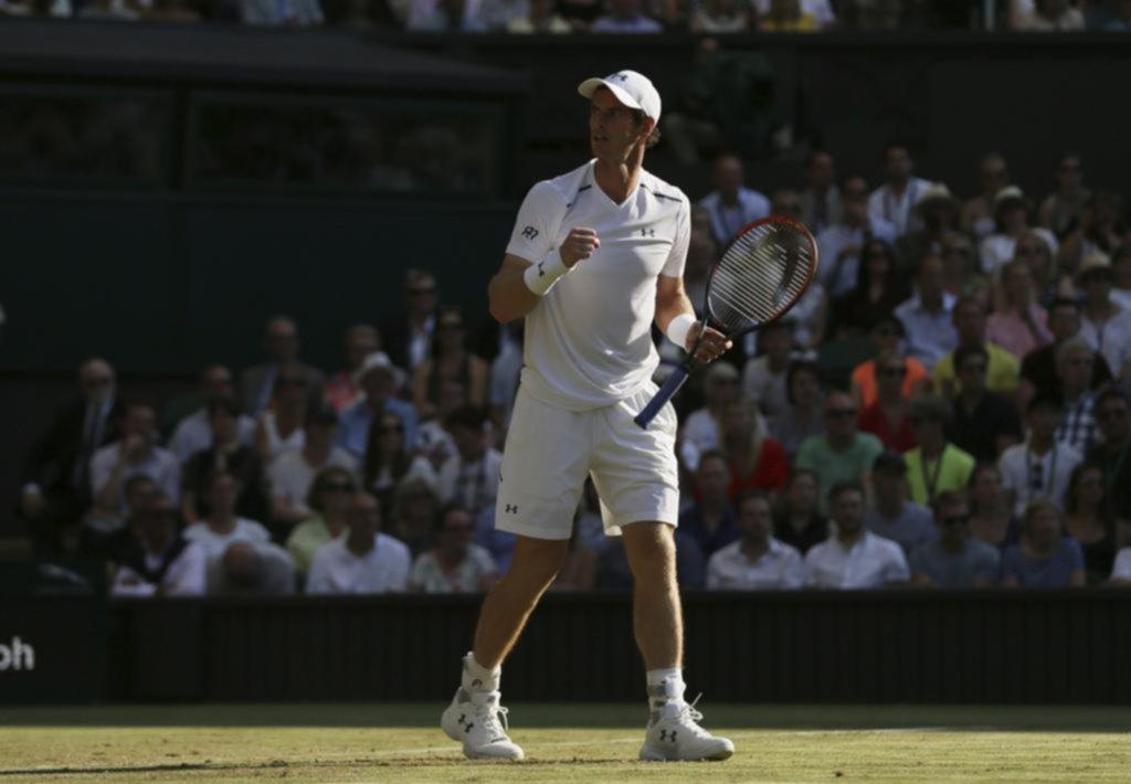 Murray hace el trabajo ante Brown y avanza a tercera ronda — Wimbledon
