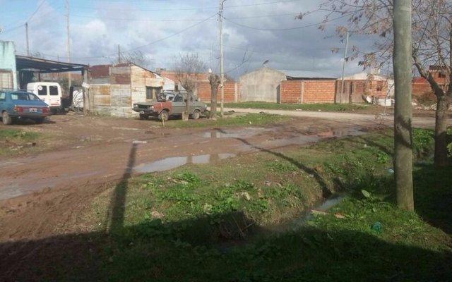 Piden arreglo de calle en la zona de 12 y 147, en Berisso