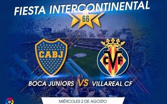 Los precios para el amistoso Boca-Villarreal en la Bombonera