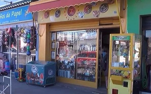 Video: Robaron un kiosco en La Cumbre