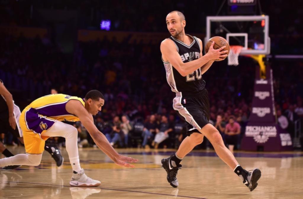 Manu Ginóbili seguirá un año más en la NBA