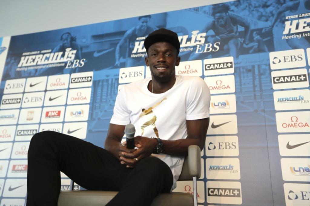 Usain Bolt confirmó la fecha de su última carrera