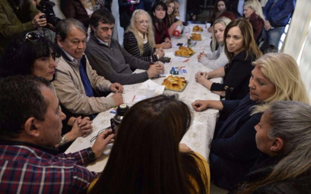 Vidal y Carrió recorrieron Mar del Plata en un nuevo timbreo