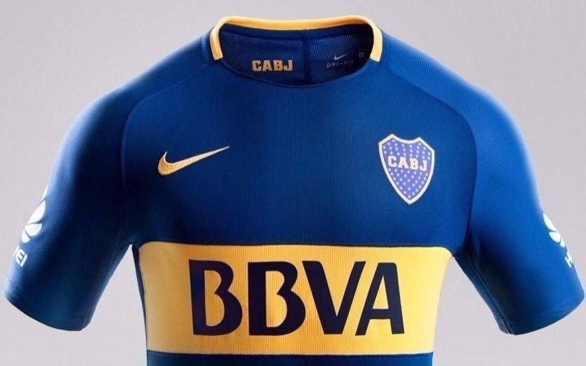 Esta es la nueva camiseta que utilizará Boca