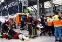 Más de 50 heridos en Barcelona tras accidente ferroviario