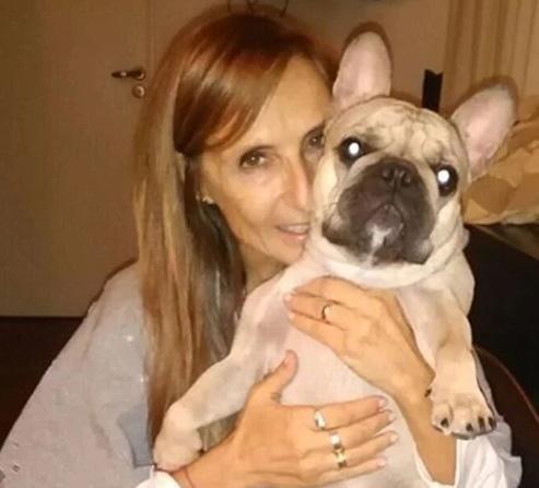 Gladys Florimonte internada tras un accidente casero