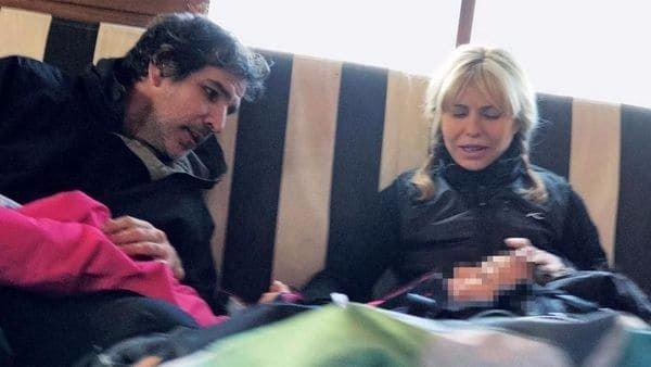 La nueva vida de Karina Rabolini con su novio — Lejos de Scioli