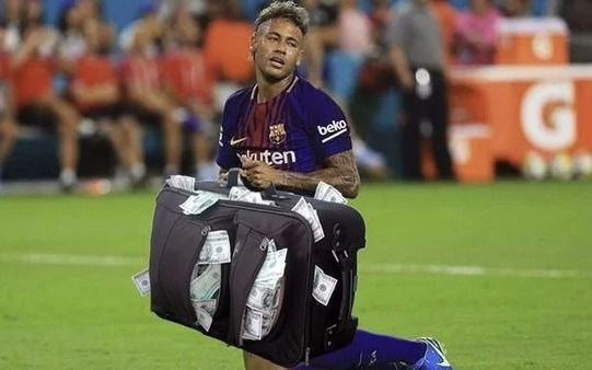 Piqué se despide con cariñoso mensaje de Neymar