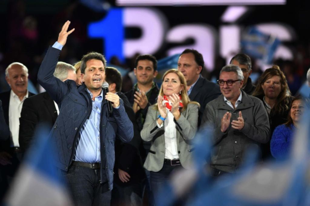 """""""Hay que ponerle límite al Gobierno"""", dijo Massa"""
