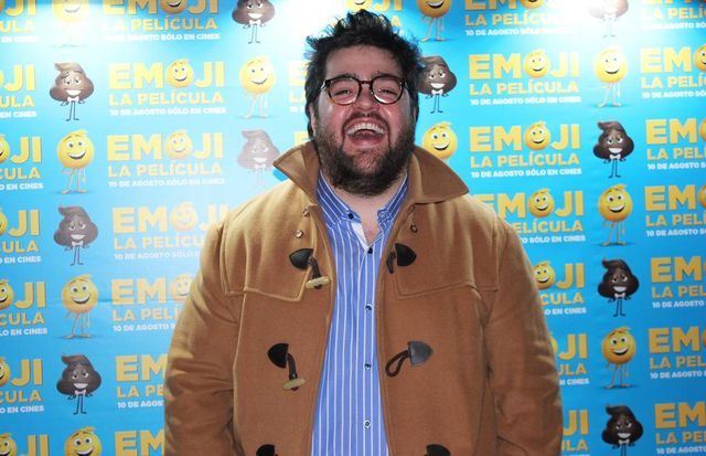 """Darío Barassi, la voz de """"Popó"""" en """"Emoji"""""""