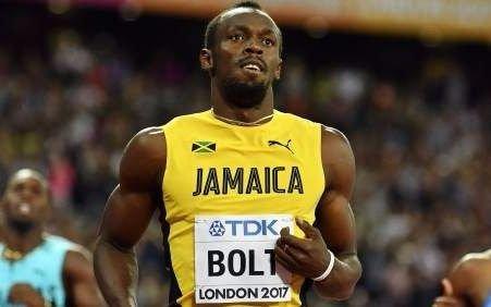 Bolt ubicó a Jamaica en la final de 4x100 en la jornada de su despedida