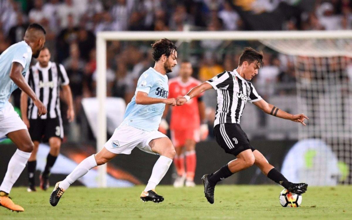 El doblete de Dybala no alcanzó y Lazio se quedó con la Supercopa en un juego para el infarto