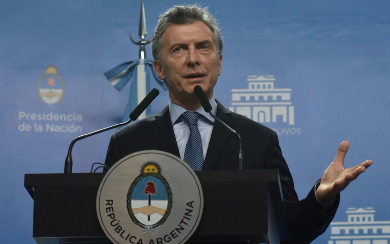 Macri mantuvo un encuentro con el presidente del Banco Mundial
