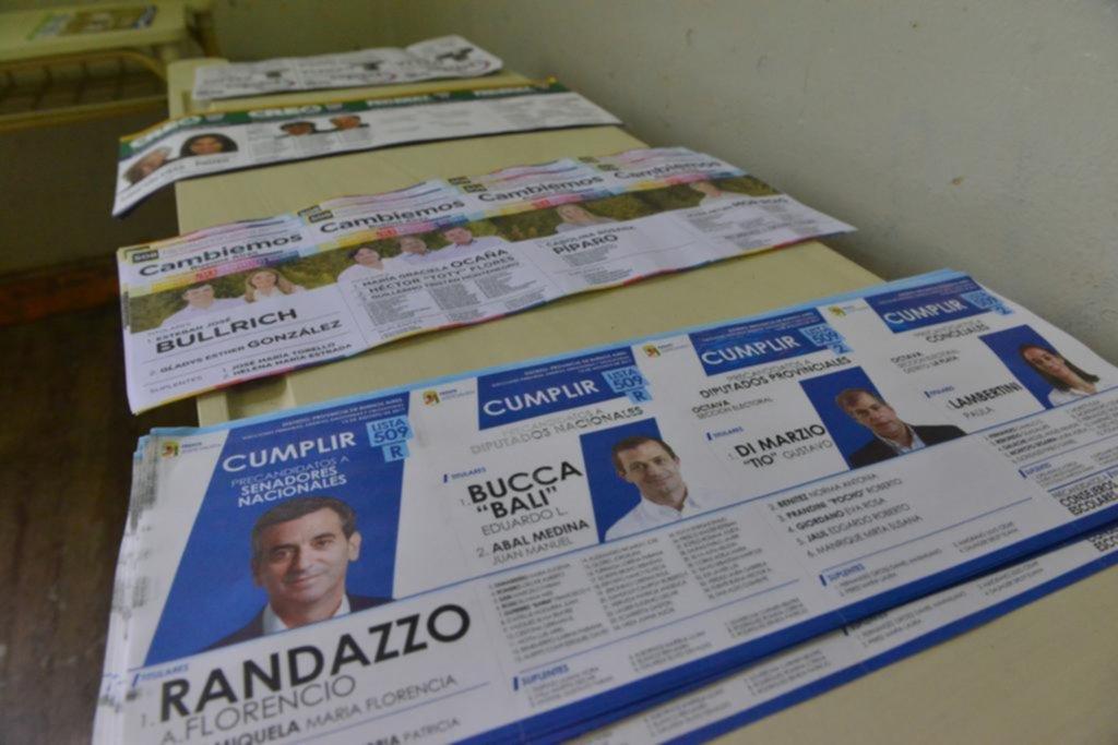 Comenzó el escrutinio de la tercera sección electoral de la Provincia