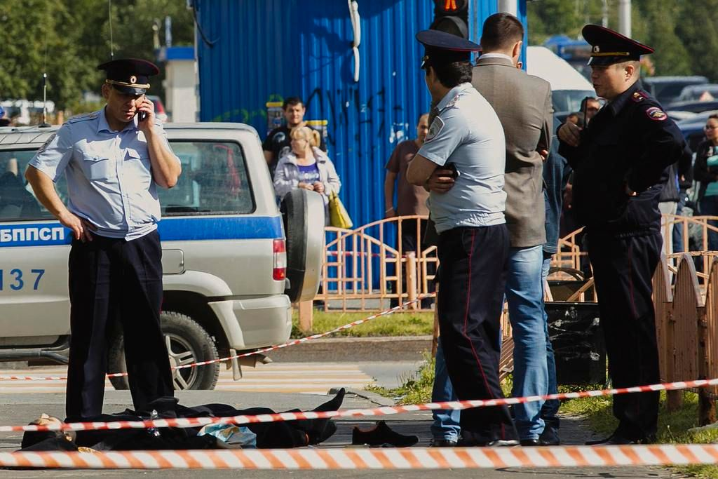 Ataque a cuchillazos en Rusia: un muerto y ocho heridos