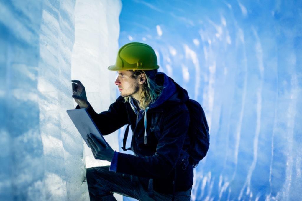 Estudiar los glaciares ayudaría a comprender el cambio climático