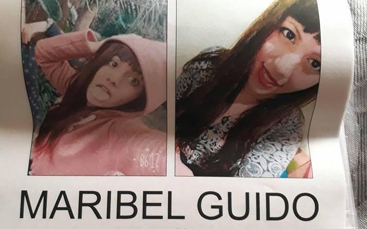 Continúa la búsqueda de Maribel Guido