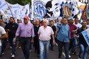 Con disputas internas, la CGT marcha a la Plaza de Mayo