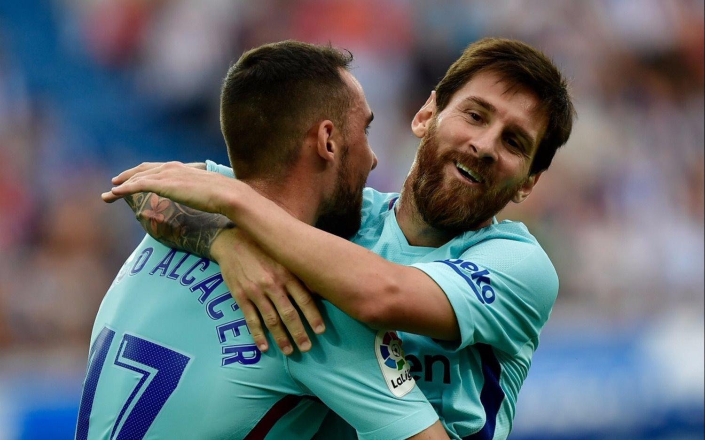 Lionel Messi falló un penal para el Barcelona contra el Alavés