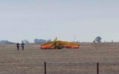 Se estrelló una avioneta y murió el piloto en el impacto — Pehuajó