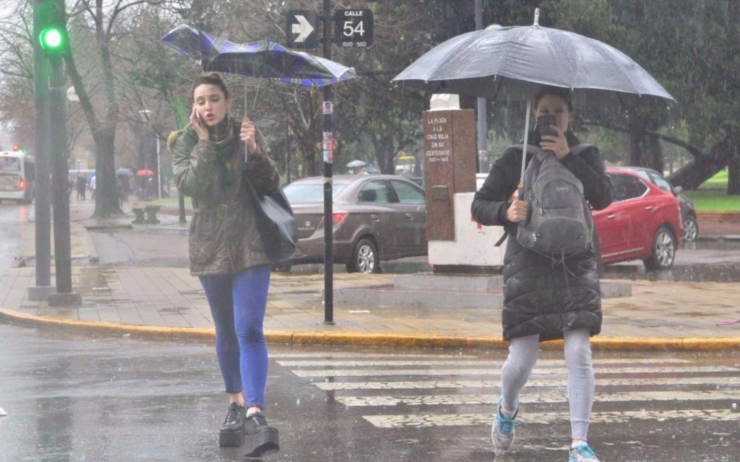 Temporal afectó a La Plata