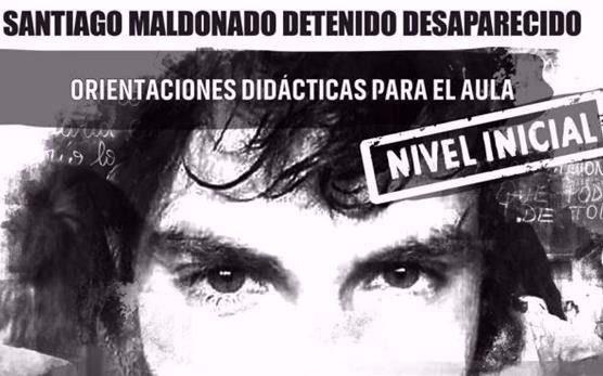 Este viernes, marcha en Villa de Merlo por Santiago Maldonado