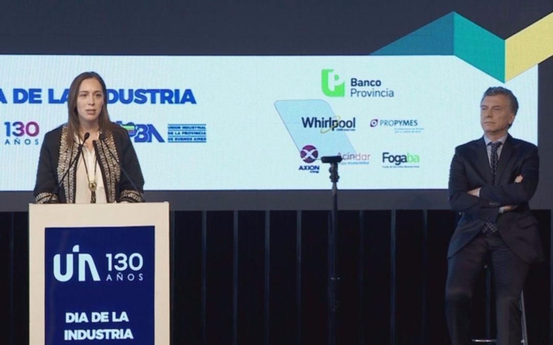 En el Día de la Industria, Macri llamó a invertir por