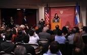 """Cristina en Harvard: """"No hay cepo y la Constitución prohíbe otra reelección"""""""