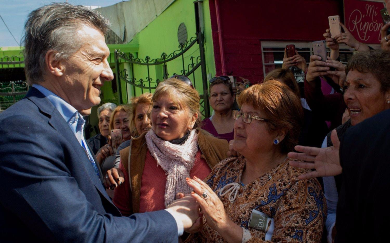 Mauricio Macri quedó fascinado con el helado de yerba mate