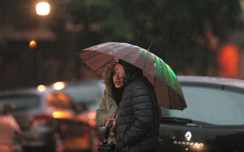 Rige un alerta meteorológico por precipitaciones intensas