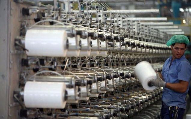 El uso de la capacidad instalada de la industria creció al 65,1%