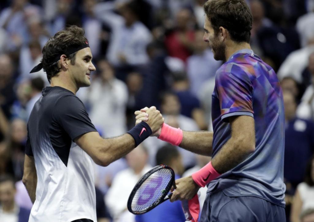 Del Potro jugó un partido increíble y despidió a Federer del US Open