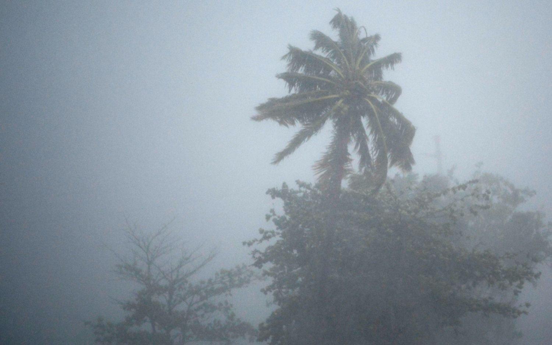 Irma avanza a la costa norte dominicana