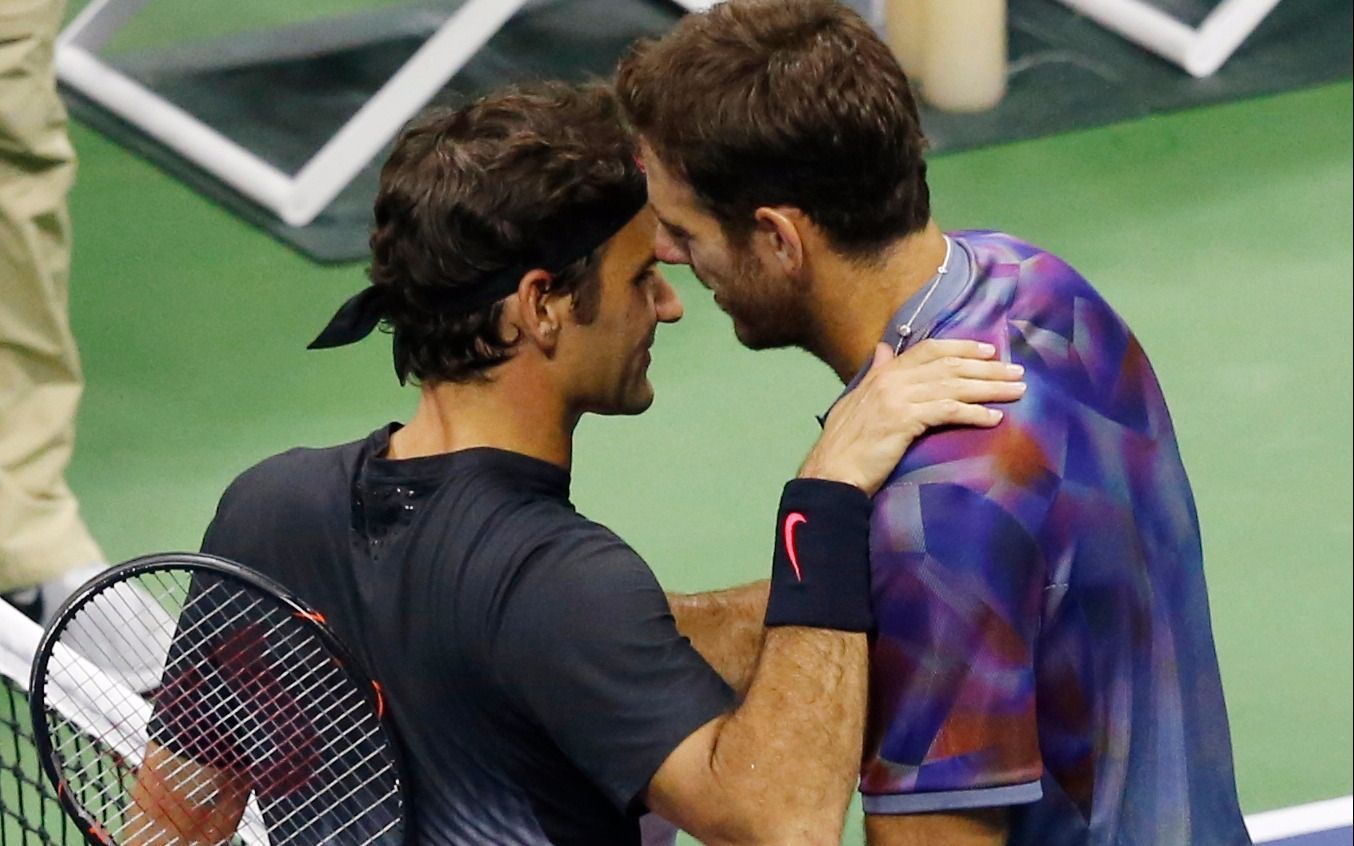 """Federer: """"Del Potro jugó como un león"""""""