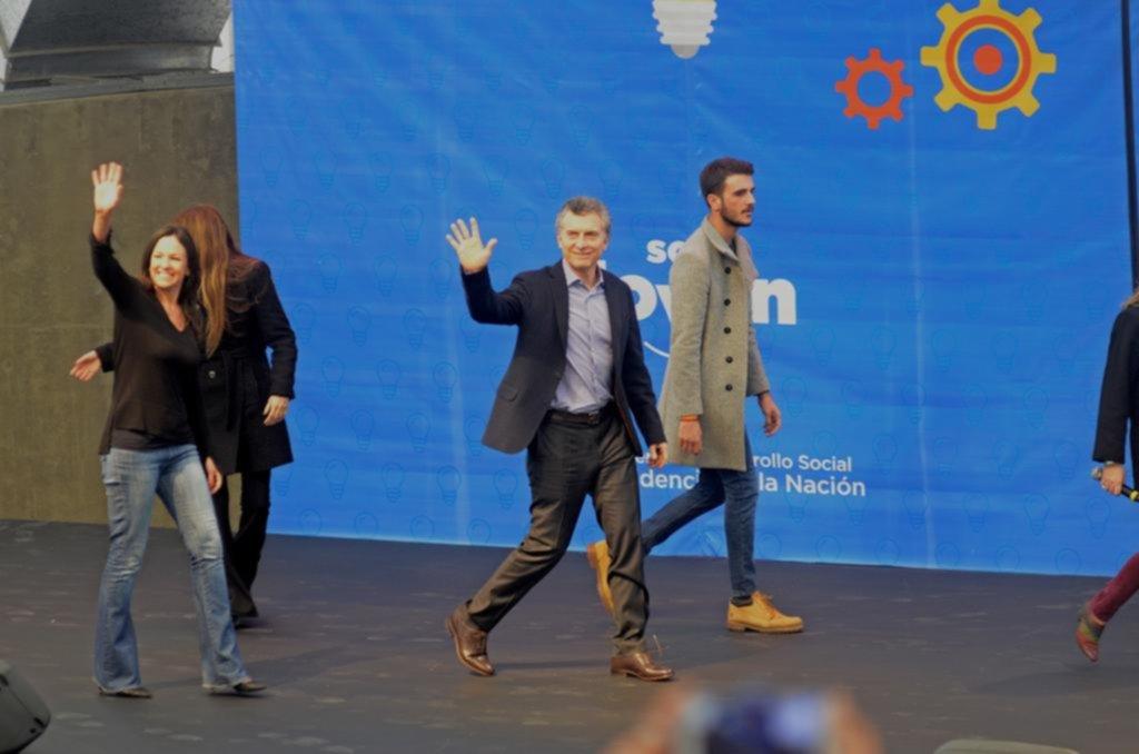 Macri dijo que a los argentinos