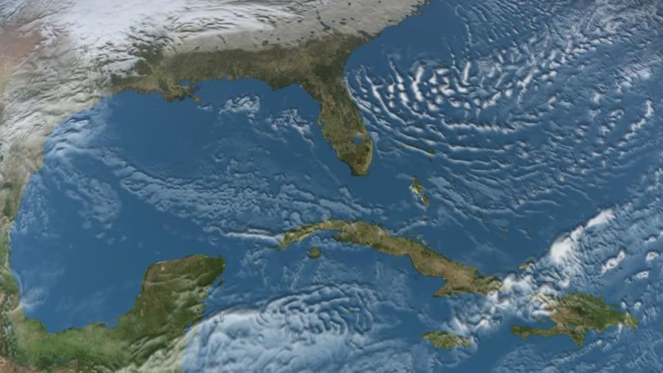 Hallan zona muerta en el Golfo de México que no tiene precedentes