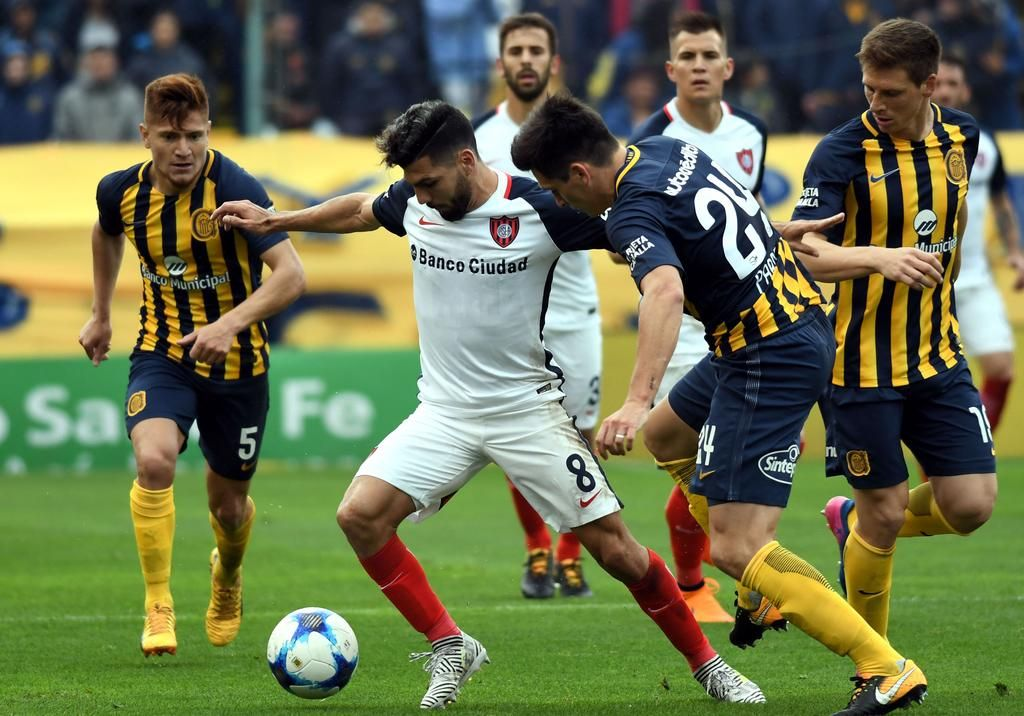 Central y San Lorenzo empataron en Rosario