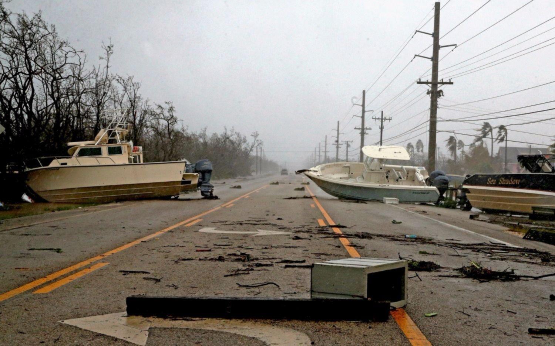 Irma se debilita a tormenta tropical y se dirige a Georgia