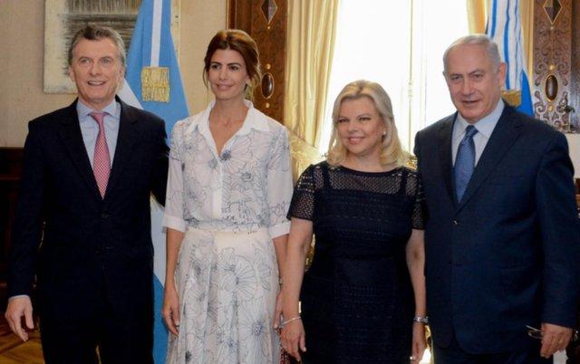 """Netanyahu valoró el compromiso de Macri de """"buscar la verdad"""""""