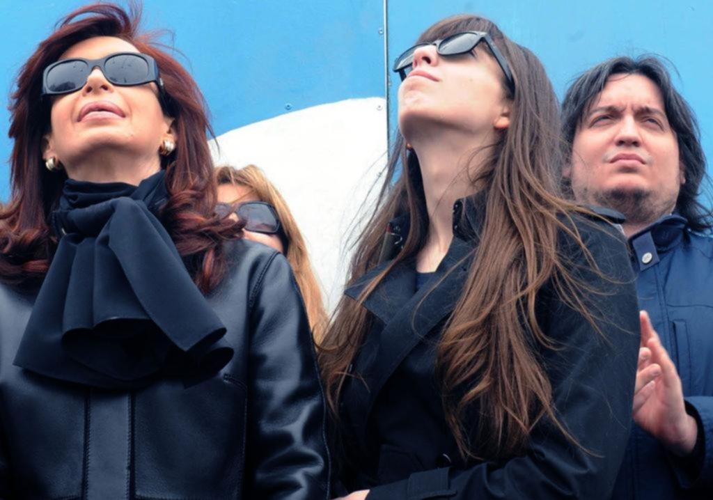 Confirman el bloqueo de bienes contra Florencia y Máximo Kirchner