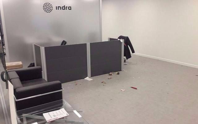 Una pareja fue detenida por el ataque con un paquete bomba al Indra