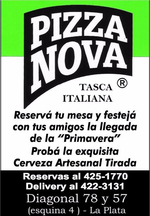 Pizza Nova te espera para festejar la primavera