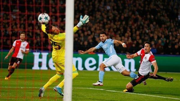 El Kun Agüero llegó a los 50 goles en torneos europeos