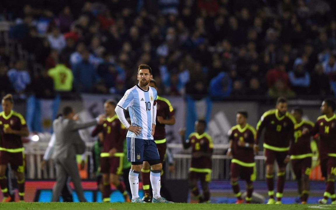 La Selección cae en el ranking FIFA